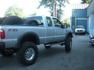 2008 F350 lifted 8inches on 41inch tires 2