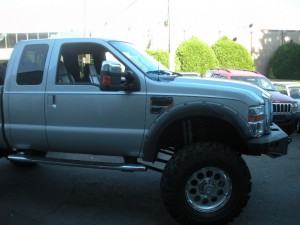 2008 F350 lifted 8inches on 41inch tires